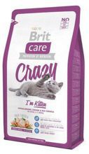 Brit Care Cat New Crazy I'm Kitten (Kurczak + Ryż)