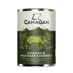 Canagan Dog Chicken with Wild Boar Casserole (Kurczak + Dziczyzna) 400g