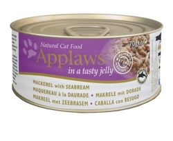 Applaws Cat Jelly (Makrela + Dorada), puszka 70g