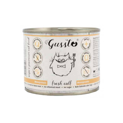 Gussto Cat Fresh Calf (Cielęcina) 200g