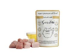 Gussto Cat Fresh Calf with Rabbit (Świeża cielęcina + Królik) 85g