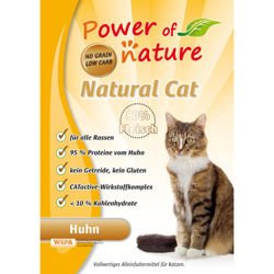 Power of Nature Natural Cat Fees Favorite - Sucha karma dla kota (Kurczak) 2kg