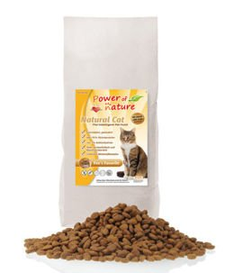 Power of Nature Natural Cat Fees Favorite - Sucha karma dla kota (Kurczak) 7.5kg