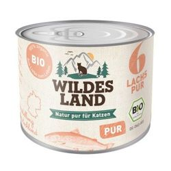 Wildes Land Cat Bio Nr 6 (Łosoś PUR) 200g